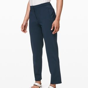 Lululemon On The Move Pants In True Blue